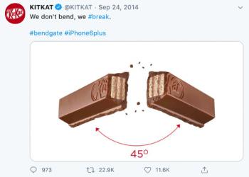KitKat on Twitter