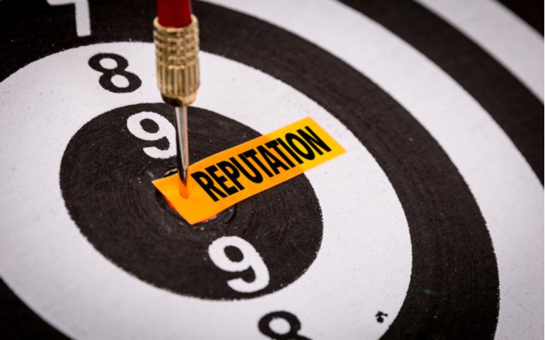Word reputation on a dartboard