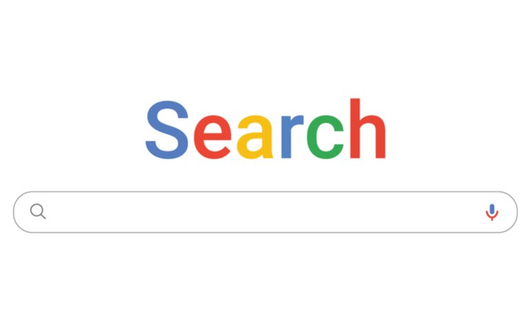 A search engine search bar